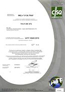 Certificazioni IATF16949 Tutti i siti TraFiMe