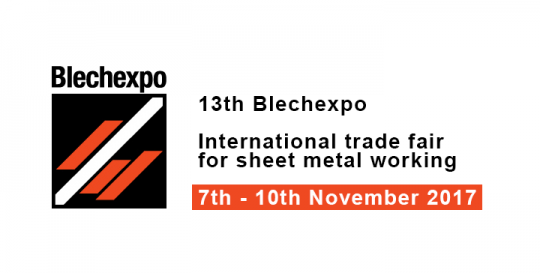 13th Blechexpo - International trade fair for sheet metal working
